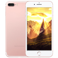 """Android Dual Core 512MB Free shipping Goophone i7 Plus fingerprint unlocked smartphone Dual Core MTK6572 Android 5.1 512MB 8GB 960*540 5.5""""QHD 8MP 3G WCDMA"""
