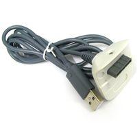 2016 Xbox360 Game Controller Chargeur câble 2in1 Remplacement USB Câbles de recharge pour Xbox 360 Wireless Game Controller Jeu Accessoire DHL Hot