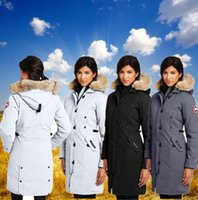Wholesale Down Coat Goose Women s Jackets White Duck Down Warm Thicken Fur Slim Fit Outdoor Windproof Hoodied Down Jackets