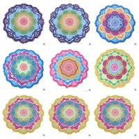 Wholesale Indian Mandala Beach Towel Tassel Printed Tapestry Hippy Boho Tablecloth Bohemian Serviette Covers Beach Shawl Wrap Yoga Mat CCA5652