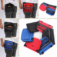 bag waterers - 20 Durable Pet Dog Treat Bait Waist Pouch Puppy Reward Based Training Bag with Buckle Belt