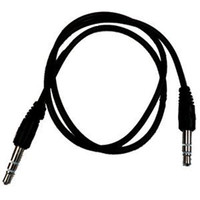 Wholesale 3 mm CM Male to Male Audio Aux Plug Ring Mini AV Cable