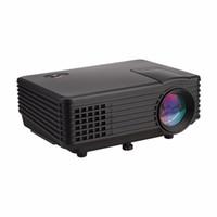 atv business - Excelvan RD Mini LED Projector Pixels Lumens HDMI USB AV VGA ATV Headphone Proyector Home Cinema Theater