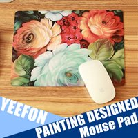 Wholesale Ultral Thin Soft Mouse Pad As Microfiber Non Slip Cleaner Portable Painting Designed Mouse Pad For Computer Mac Book