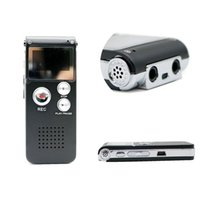 Wholesale Voice Recorder GB Brand Spy Mini USB Flash Digital Audio Voice Recorder Hr Dictaphone MP3 Player