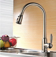 Wholesale new arrival top quality brass hot and cold single lever kitchen sink faucet tap kitchen mixer