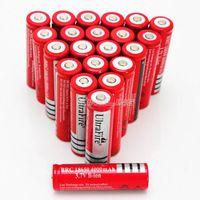 Wholesale New Ultrafire Rechargeable Lithium Li ion Battery for bike Battery V mAh Rechargeable Battery li ion Batterie