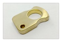 Wholesale Pure Brass EDC Handemade Tiger Finger Punch Knuckle Duster mm mm mm Stone Wash Surface Treatment g
