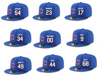 Wholesale 2016 American Baseball Championship Snapbacks Nice and Fashion Hat Color Blue Any Player Can Be Customized