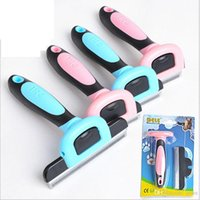 Wholesale DELE Dog Hair Trimmer Pet Comb Hair Remover Dog Cat Brush Grooming Tools Dog Supplies Pet Cat Trimmer