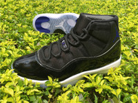Wholesale 2016 new Space Jam Quality AAA Air Retro XI Number in shoes back Space Jam Basketball Shoes Size