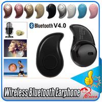 achat en gros de casque écouteur iphone-Gold Sport Running S530 Mini Stealth sans fil Bluetooth 4.0 Écouteurs stéréo casque musique oreillette Retail Box pour iphone7 7plus 6plus