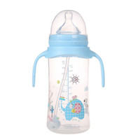 baby eating accessories - ml Cartoon Silicone Baby Feeding Nursing Bottle Accessories Eating Milk Bottle Nuk Nipple Sippy Cup Children Kids Feeder