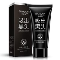 Wholesale Purifying Blackhead Remover Peel Off Facial Cleaning Black Mud Face Mask