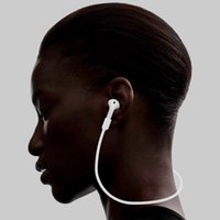 air cable bluetooth - For Apple Airpods Headphones Anti Lost Strap Loop String Rope for Air Pods Bluetooth Earphone Silicone Cable Cord Accessories Retail pack