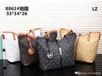 Wholesale 2017 New Michael style kores PU tote bag with women coin purse custom made fashion pu tote colorful women handbag bag
