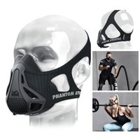 athletic fitness training - New Phantom Athletics Training Mask popular Mask Sport Mask MMA Boxing Training Fitness Masks Fast DHL