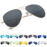 achat en gros de gafas aviator-Soldes Mode Lunettes de Soleil Oculos De Sol Femmes Hommes Polarized Aviator Mirrored Lens Protection UV Lunettes Solaires Gafas