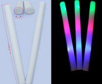El flash 800pcs se pega las luces ligeras del club de los palillos de las luces al por mayor llevó la luz colorida de la barra ligera colorida de la esponja de los palillos de la varita