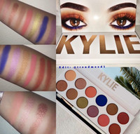 Wholesale WILL IN STOCK Kylie Jenner Royal Peach Eye Shadow Palette Kylie Cosmetics Waterproof Eyeshadow colors set for VALENTINE S DAY GIFT