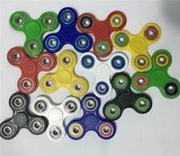 Wholesale Fidget Spinner Hand Spinner Tri Fidget Ceramic Ball Desk Focus Toy EDC For Killing Time For Kids Adults VS fidget cube DHL