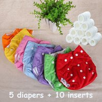 Wholesale Cloth Diaper Baby Nappies Diapers Cover Reusable Washable Cotton Diaper Free Size Adjustable Fralda Winter Summer Three Version