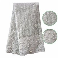 african laces and fabric - African French Net Lace With Stones and Bead Polyester High Quality Fashion Wedding Dress for Women Party