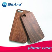 apple wood blanks - wooden smartphone case for iphone7 plus bamboo maple cherry PC hard blank phone case wood smartphone mobile cell phone case