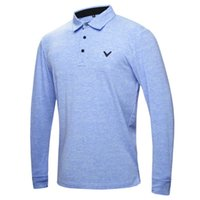 Wholesale New fashionable V Golf Wear Long sleeve Golf T shirt colors S XXL size inchoice for Casual shirt