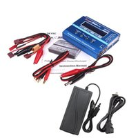 battery powered helicopters - SKYRC iMAX B6 Mini w Lipo Balance Charger Discharger V5A AC Power Adapter for RC Battery Helicopter Drone F00032 F00428