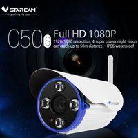 Wholesale New VStarcam C50S P Outdoor IP Camera MP WIFI ONVIF IP66 Waterproof Dual IR CUT m H support G TF Card