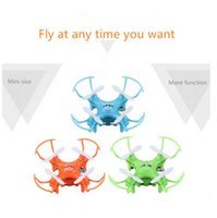 Wholesale Newest lighting Mini RC quadcopter with D eversion channels Ghz remote