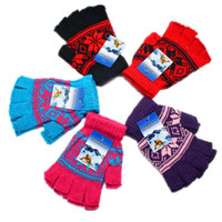 Cheap Fingerless Gloves Gloves Best female wool Half gloves