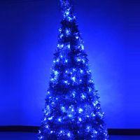 LED ac ed - waterproof AC220V EU m led ED Multicolor led String Fairy Lights for Christmas Wedding Garden Party garland led lights