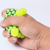 anti gag - Vent Grape Ball Funny Toys Anti Stress Reliever Autism Squeeze Decompression Fidget toys Prank Gift Gadget Gags Practical Jokes
