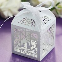 bamboo wedding invitations - Wedding Invitations Mariage Laser Cut Bird Wedding Favors Candy Boxes Sweets Box Baby Shower Gifts Decorations Supplies