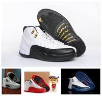 Precio de Designer brand name men shoes-Retro 12 XII Zapatillas de baloncesto para hombre Zapatillas de deporte para hombre de marca Zapatillas deportivas de lujo para hombre con caja original