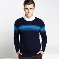 ans flats - 2016 new winter sweater Male Long Sleeve Fashion Casual Comfortable Sweater ans T shirt jacquard sweater sleeve head