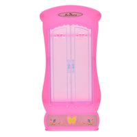 bedroom closet furniture - 1Pc Girls Toy Pink Wardrobe Closet For Barbies Doll Princess Bedroom Furniture Closet Wardrobe For Barbie Doll