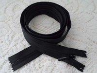 Wholesale ykk nylon invisible silent zipper cm stealth silent silent black zipper black zipper dress skirt