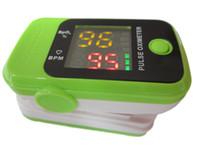 venda por atacado finger oximeter-NOVO diodo emissor de luz ponta oxímetro de pulso SPO2 PR sangue oxigênio exibição de freqüência cardíaca Pulso Dedo Oxigeno Monitor, Spo2