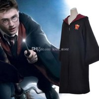 Wholesale Harry Potter Costume Adult and Kids Cloak Robe Cape Halloween Gift Harry Potter Cloak Robe Cape Harry Potter Costume