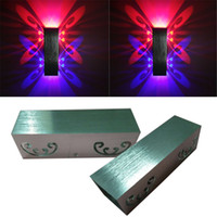 Wholesale LED creative butterfly lamp sofa in the living room TV wall background light entrance corridors KTV bar lamp