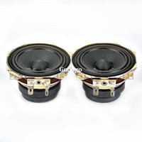 Wholesale Freeshipping Full Range Speaker inch ohm W Double Magnetic Steel Loudspeaker HT Home Theater Speakers
