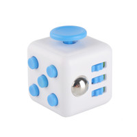 8-11 Years Multicolor Plastic Novelty Fidget Cube Stress Relief Focus Decompression Anxiety Toys For Adults and Children Christmas Easter Gift decompression stress balls