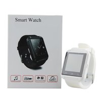 Wholesale U8 Bluetooth Smart Watch Fashion Casual Android Watch Digital Sport Wrist LED Watch Pair For iOS Android Phone DZ09 U80 Smartwatch