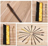 Wholesale Harry Potter Magic Wand DHL With box Dumbledore Magic Magical Wand Cosplay Wands Non luminous