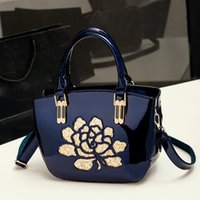 Wholesale 2016 autumn winters new style High grade Ms hand paint one shoulder bag handb trends leather handbag Fashion Bags MS totes