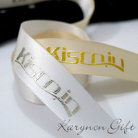 personalized ornaments - 3 mm High Quality Of Personalized Printing Ribbon gift and a Variety Of Color Choices100yards