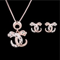 african leopards - Jewelry Sets K Gold Plated Fashion Women Exquisite Quality Rhinestone Leopard Style Necklaces Earrings Piece Set Party Jewelry JS314